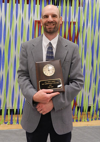 Dan Nau Administrator of the Year