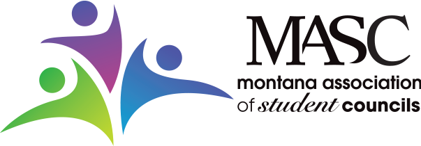 Montana Association Student Councils MASC Logo H